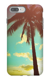 Retro Styled Hawaiian Palm Tree iPhone 7 Plus Case by Mr Doomits