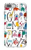 Cute Alphabet with Illustrations iPhone 7 Plus Case