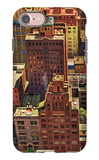 """Bird's-Eye View of New York City,"" August 17, 1946 iPhone 7 Case by John Falter"