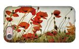 Orange Flower Patch iPhone 7 Case by Mia Friedrich