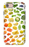 Collection Of Fruits And Vegetables iPhone 7 Case by  egal