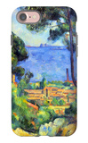 View of L'Estaque and Chateaux d'If iPhone 7 Case by Paul Cézanne