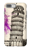 Tower of Pisa in Pen iPhone 7 Plus Case by Morgan Yamada