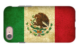 Grunge Flag Of Mexico iPhone 7 Case by Graphic Design Resources