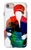 Jimi Watercolor iPhone 7 Case by Lora Feldman