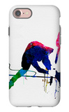 Joe Watercolor iPhone 7 Case by Lora Feldman
