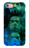 Star Warriors Watercolor 1 iPhone 7 Case by Anna Malkin