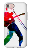 Elvis Watercolor iPhone 7 Case by Lora Feldman