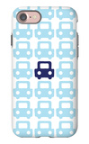 Blue Parking Lot iPhone 7 Case by  Avalisa