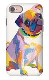 Pug Sketch iPhone 7 Case by Patti Mollica