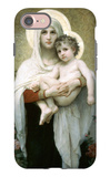 The Madonna of the Roses iPhone 7 Case by William Adolphe Bouguereau