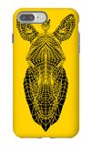 Yellow Zebra Mesh iPhone 7 Plus Case by Lisa Kroll