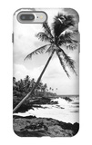 Hawaii - Palms along the Beach iPhone 7 Plus Case by  Lantern Press
