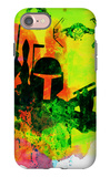 Star Warriors Watercolor 3 iPhone 7 Case by Anna Malkin