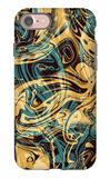 Psychedelic Seamless Print iPhone 7 Case by Alexandra Khrobostova