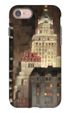 Manhattan Illuminated iPhone 7 Case by Paulo Romero