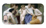 Admiration iPhone 7 Case by William Adolphe Bouguereau