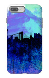 New York Watercolor Skyline 2 iPhone 7 Plus Case by  NaxArt