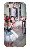 The Dance Class iPhone 7 Case by Edgar Degas