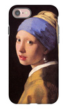 The Girl with the Pearl Earring iPhone 7 Case by Jan Vermeer