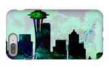 Seattle City Skyline iPhone 7 Plus Case by  NaxArt