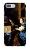 Dame on Spinet iPhone 7 Plus Case by Jan Vermeer