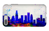 Los Angeles City Skyline iPhone 7 Plus Case by  NaxArt
