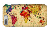 Vintage World Map iPhone 7 Plus Case by PHOTOCREO Michal Bednarek