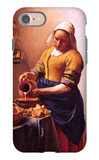 Milk Maid iPhone 7 Case by Jan Vermeer