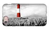 Lighthouse Border iPhone 7 Case by Anna Coppel