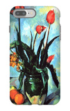 Tulips in a Vase iPhone 7 Plus Case by Paul Cézanne