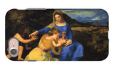 The Virgin and Child iPhone 7 Case by  Titian