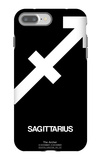 Sagittarius Zodiac Sign White iPhone 7 Plus Case by  NaxArt