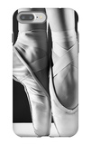 A Photo Of Ballerina'S Pointes On Black Background iPhone 7 Plus Case by  PS84