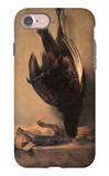 Still Life with Dead Pheasant and Hunting Bag iPhone 7 Case by Jean-Baptiste Simeon Chardin