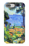 View of L'Estaque and Chateaux d'If iPhone 7 Plus Case by Paul Cézanne