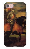 Emperor Charles V at Muhlberg iPhone 7 Case by  Titian