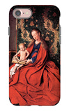 Madonna and Child Reading iPhone 7 Case by Jan Van Eyck
