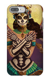 Day of the Dead - Crossbones iPhone 7 Plus Case by  Lantern Press