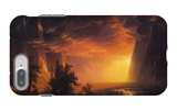 Sunrise in Yosemite Valley iPhone 7 Plus Case by Albert Bierstadt