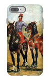 Groom with Two Horses iPhone 7 Plus Case by Henri de Toulouse-Lautrec