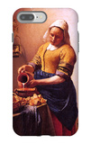 Milk Maid iPhone 7 Plus Case by Jan Vermeer