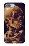 Skull with a Burning Cigarette iPhone 7 Plus Case by Vincent van Gogh