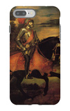 Emperor Charles V at Muhlberg iPhone 7 Plus Case by  Titian