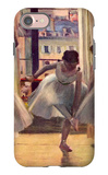 Three Dancers in a Practice Room iPhone 7 Case by Edgar Degas