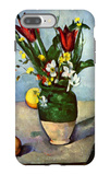 The Vase of Tulips iPhone 7 Plus Case by Paul Cézanne