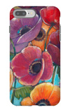 Electric Poppies 1 iPhone 7 Plus Case by Norman Wyatt Jr.