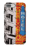 Urban Collage Hotel iPhone 7 Plus Case by Deanna Fainelli