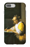 Woman in Yellow iPhone 7 Plus Case by Jan Vermeer