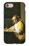 Woman in Yellow iPhone 7 Case by Jan Vermeer